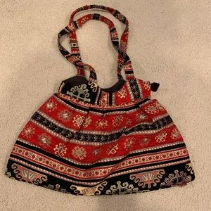 Satchel purse- handmade in Turkey